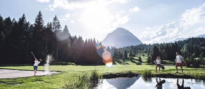 18-Loch Golfplatz in Seefeld - Golf Alpin Card